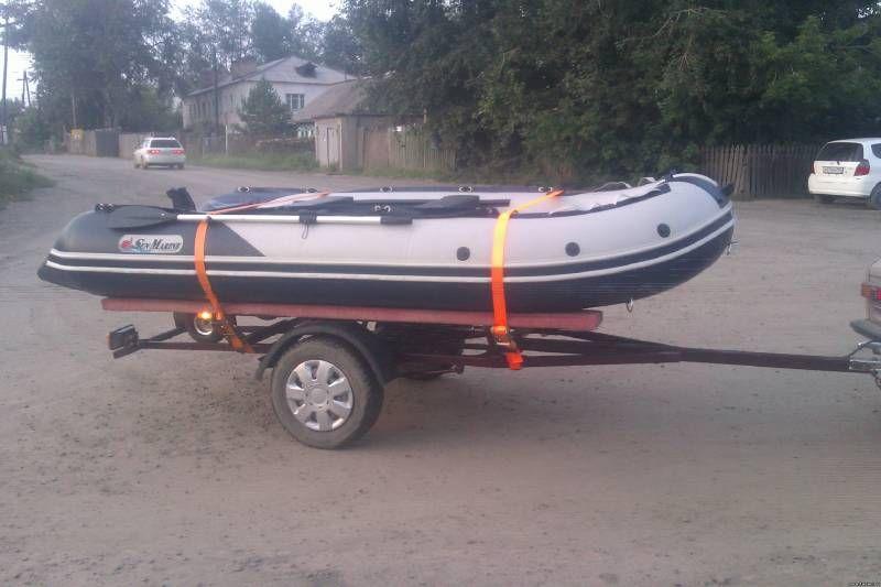 груз для лодки своими