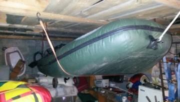 Хранение пвх лодки