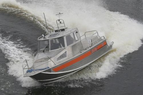 Катер Wellboat